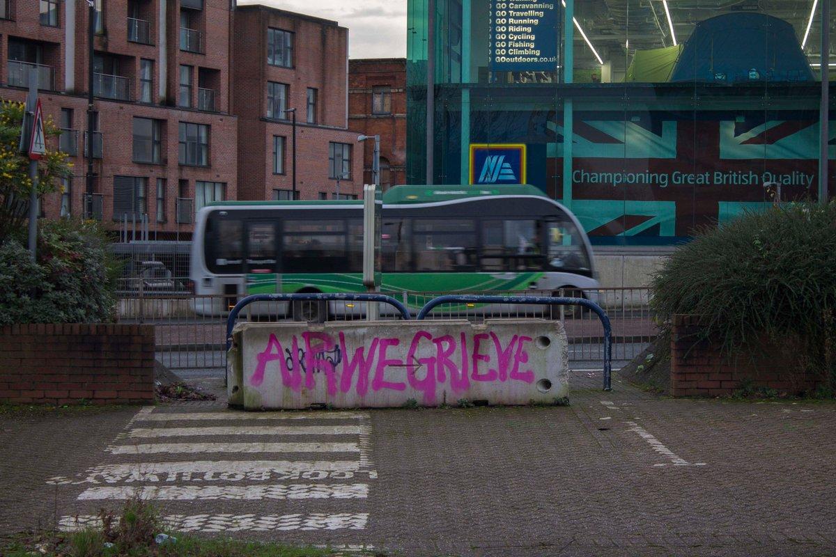 Outcry  (Great Ancoats Street, Manchester, January 2020)  #photography #urbanphotography #cityscape #graffiti #airpollution #GreatAncoatsStreetManchester #GreatAncoatsStreet #Manchester
