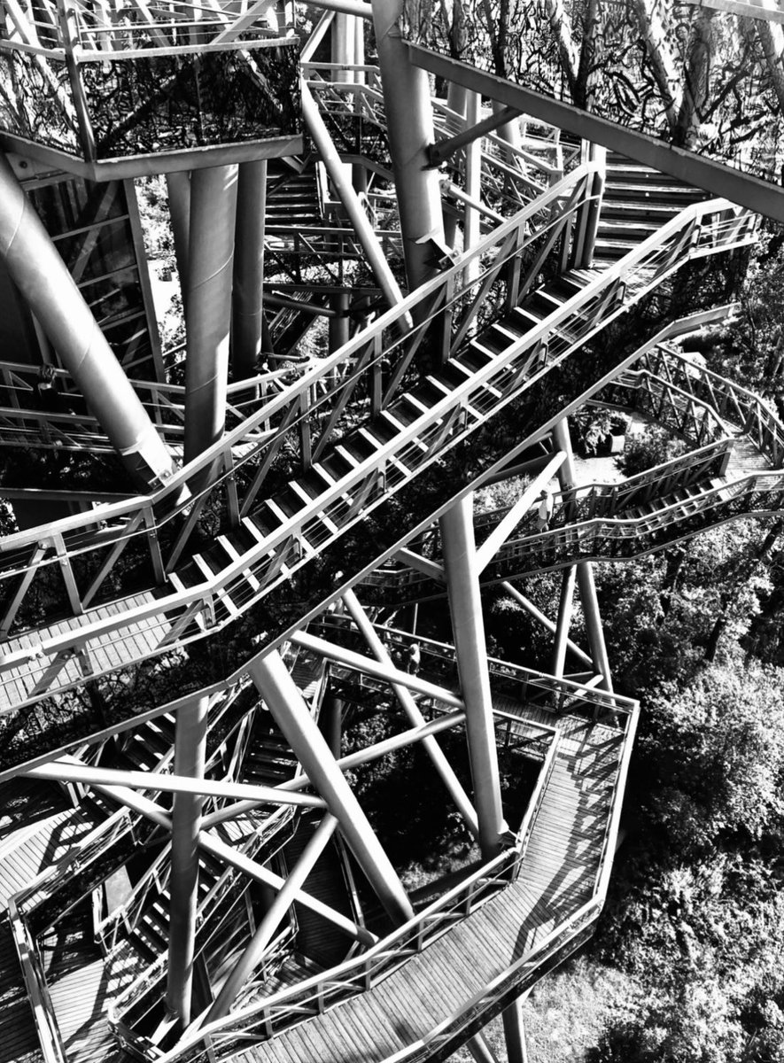 #labyrinth of steps in #botanical #garden #Tulln #blackandwhitephotography #blackandwhite #architecture #architecturephotography #cityscape #abstractexpressionism #monument @Labyrinth @europhotonet #jardineria #gartencenter #jardin #fotografie #photography #instapic #instalike
