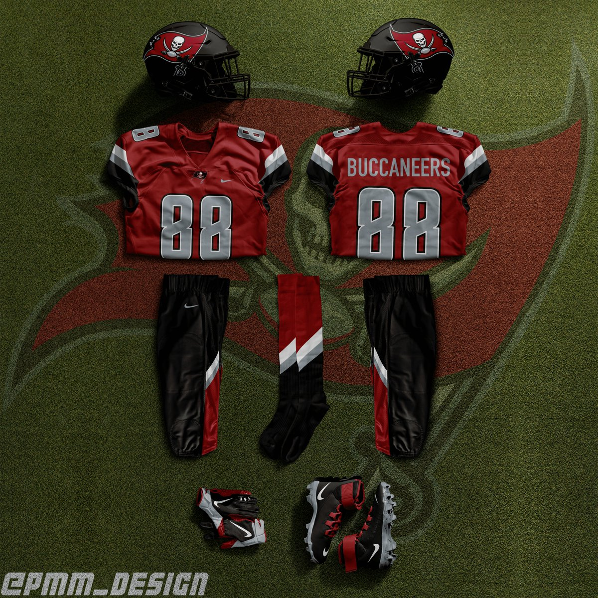 NEW ADDITION: Tampa Bay Buccaneers Uniform Concept v1  121  check out more at:   #tampabay #buccaneers #tampabaybuccaneers #nfl #football #jersey #uniform #concept #concepts #jerseyconcept #unifromconcept #jerseyconcepts #uniformconcepts