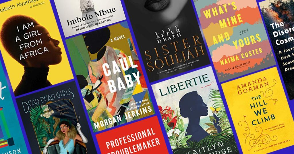 Here are the editors' picks for the must read spring books by Black authors (including @MorganJerkins @zafatista @iLuvvit @TheAmandaGorman @e_nyamayaro @nekesaafia @CalebANelson and more):