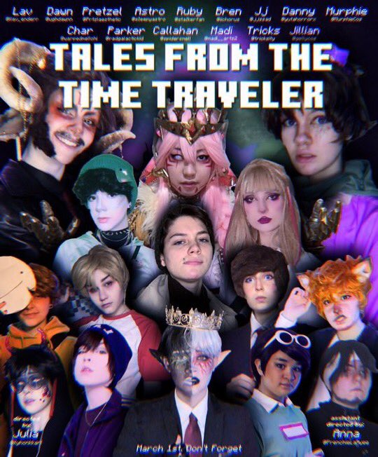 Hey @KarlJacobs_ @honkkarl me and a bunch of extremely talented artists teamed up together to recreate #TALESFROMTHESMP  in live action! Our first episode premieres tomorrow on @ilyhonkkarl 's YouTube channel! You can follow @officialtfttt for more info! 💕💕