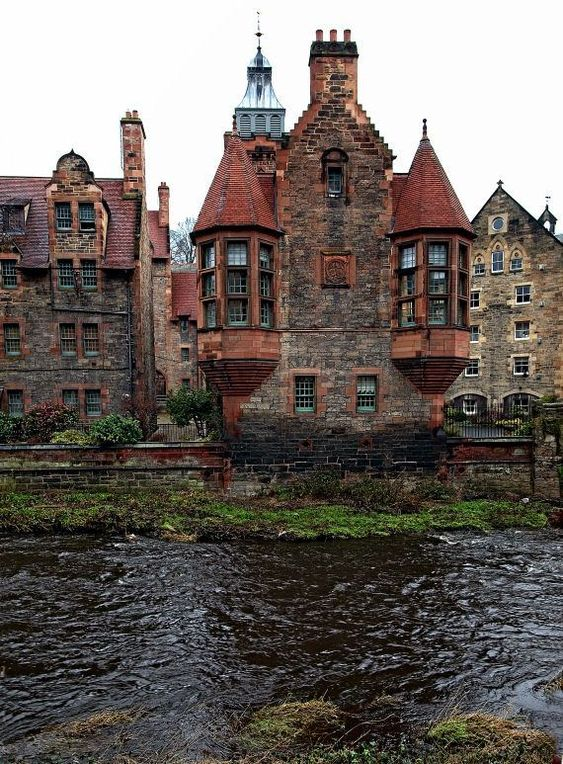 We wonder how old this house could be in Edinburgh, Scotland.     #Custom #Home #Contractor #Atlanta #Georgia  #Custom_Home_Contractor_Atlanta_Georgia #CustomHomeContractorAtlantaGeorgia