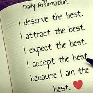 A Daily Affirmation from Me to You!  SundayThoughts #SundayMotivation