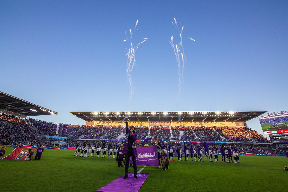 #OTD last year: The boys opened the 2020 season at @ExploriaStadium 😈 #VamosOrlando