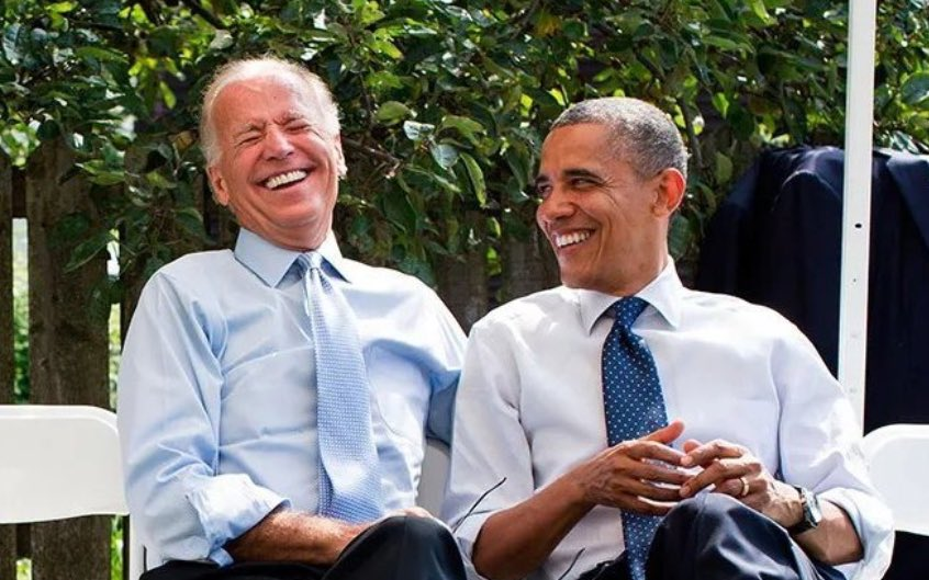 My president and my president having a laugh about watching Trump.
