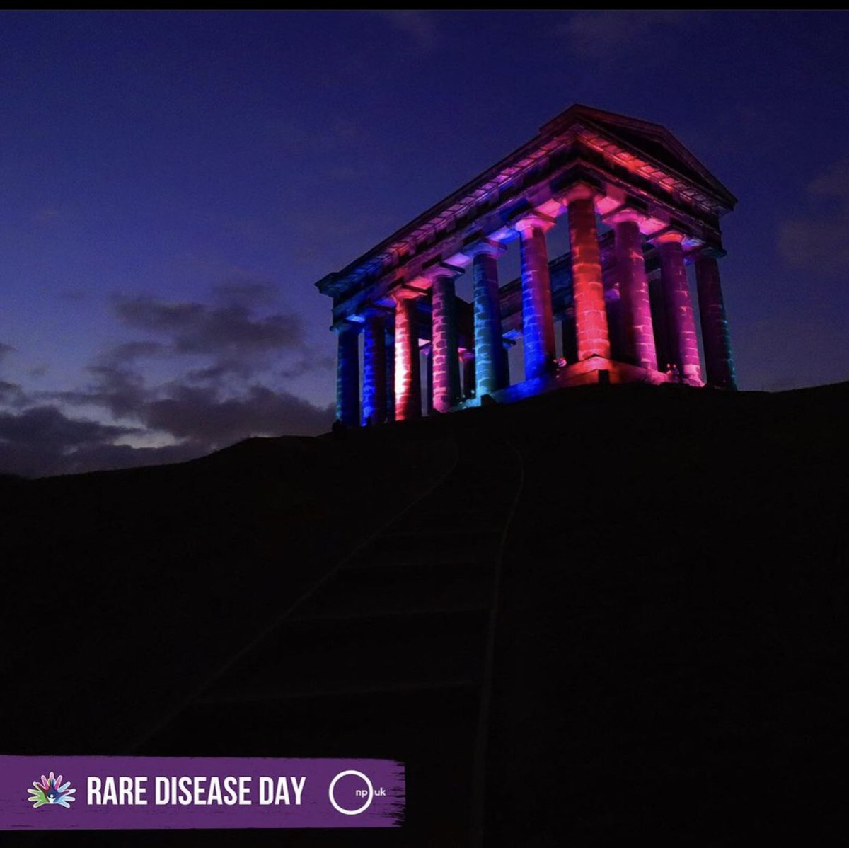 Thank you @SunderlandUK for showing your support for the many families impacted by a rare disease. We are rare, we are #Many #Strong #Proud #RareDiseases #niemannpick #npc #ASMD #RareDiseaseDay2021
