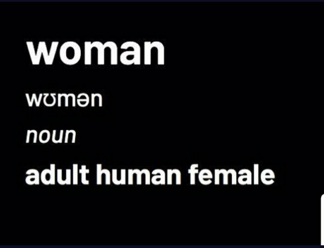 Replying to @Muttmere1: #WomensHistoryMonth A whole month to remind people exactly what a woman is!