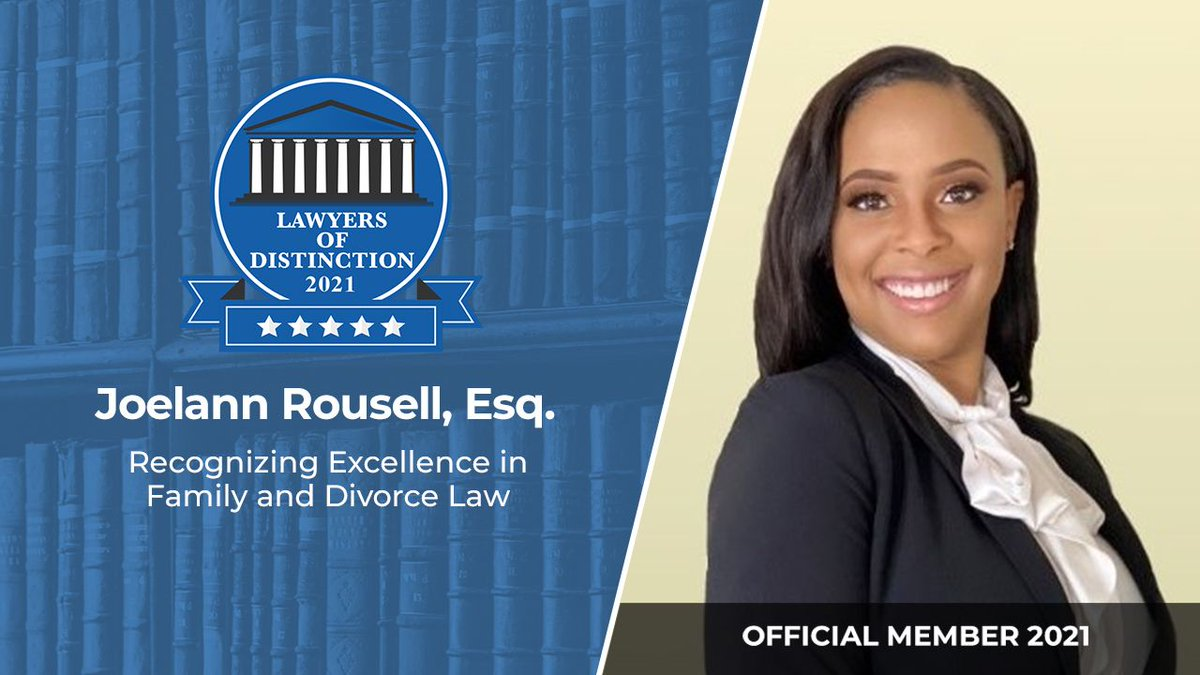 Lawyers of Distinction wishes to welcome Joelann Rousell, Esq. Joelann practices Family and Divorce Law in Gretna, LA  #Lawyer #Legal