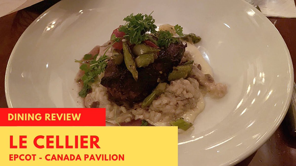 🍴 Today's food review is from Le Cellier located in the Canada pavilion at #epcot.  This is a great restaurant for steaks and the cheddar cheese soup.  Watch to see what we have to say about it.  #WaltDisneyWorld #DisneyWorld   Tap to Watch: