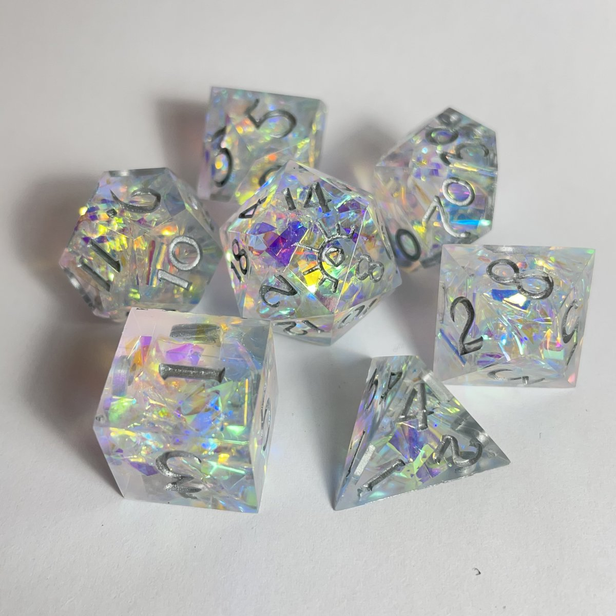Hey all you Dice hording goblins, I recently had a shop update with some new and handmade shiny math click clack. Go check it out.  #dnd #CriticalRole