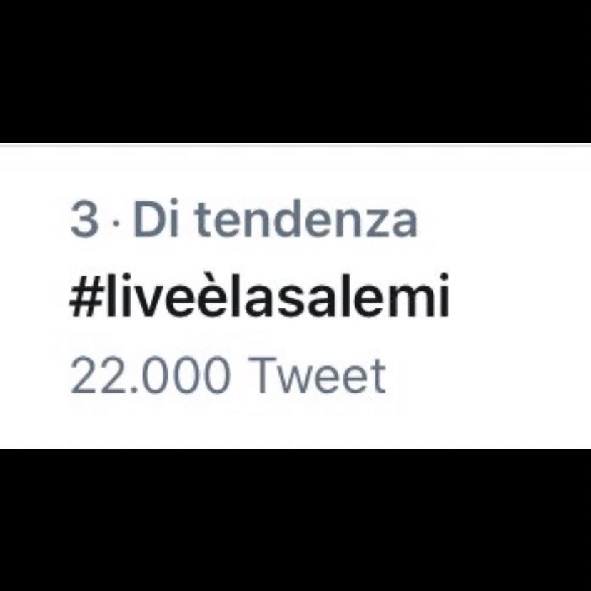 #liveèlasalemi
