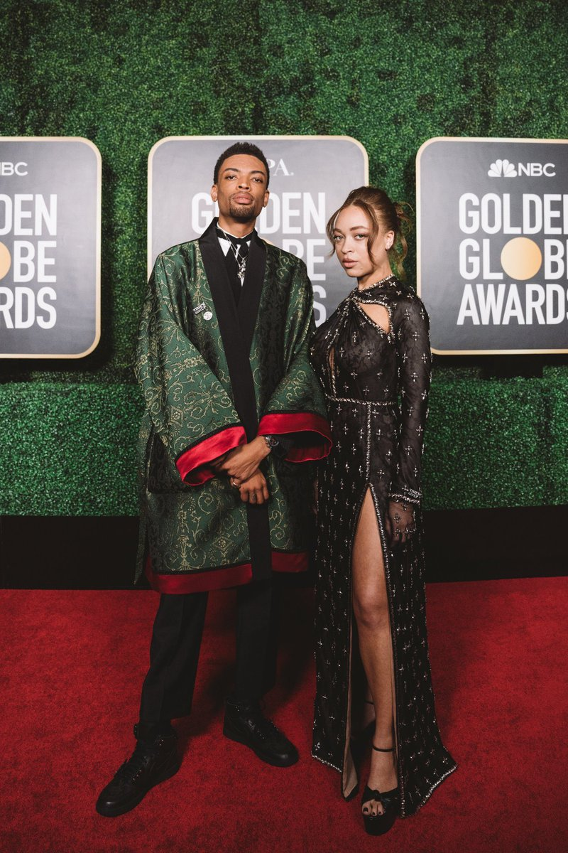 Lee Dynasty...   #art #photo #movie #GoldenGlobes #Gucci   📸 Satchel Lee and Jackson Lee