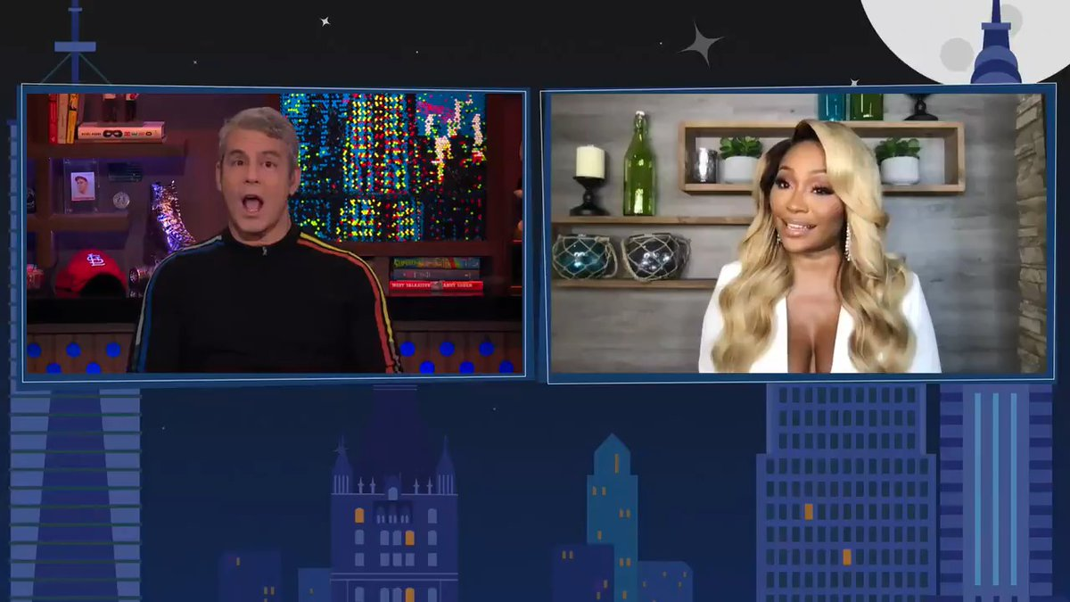 #RHOA star @CynthiaBailey10 says husband Mike Hill wasn't happy after watching the bachelorette party episode. #WWHL