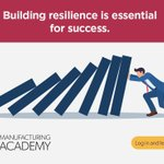 Image for the Tweet beginning: Building resilience is essential for