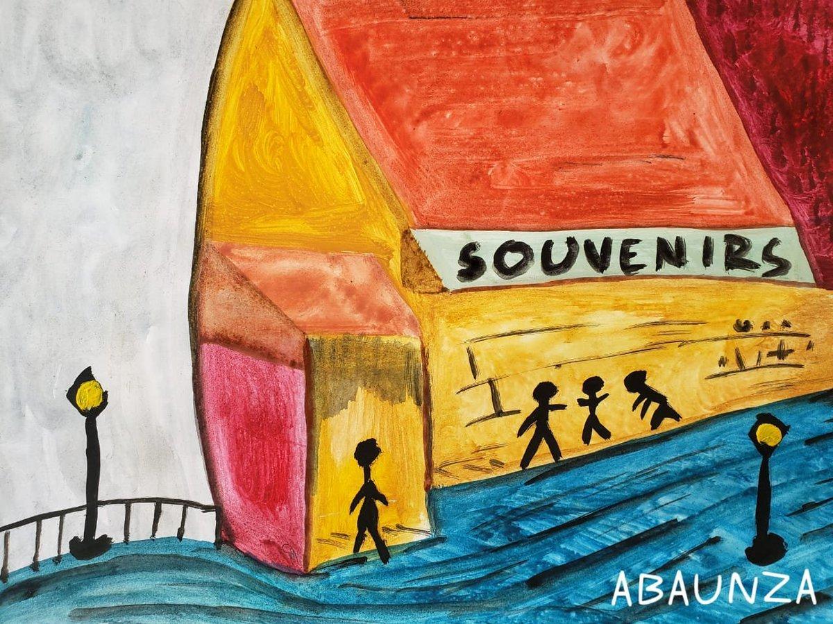 TITLE: TIENDA DE RECUERDOS  #art #modernart #oilpainting  #artoftheday #singulart  #painting  #abaunzaart #abstractart #expressionism  #artwork  #fineartgallery #oleo #acuarela #zoo #art #photo #modernart #oilpainting #matisse #Picasso #vangogh #expressionism #lmpresionismo