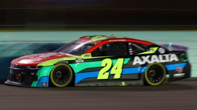Congratulations, William Byron!! 🏁 @WilliamByron earns his second career @NASCAR Cup Series win with a dominant performance @HomesteadMiami. #Axalta24 🏁
