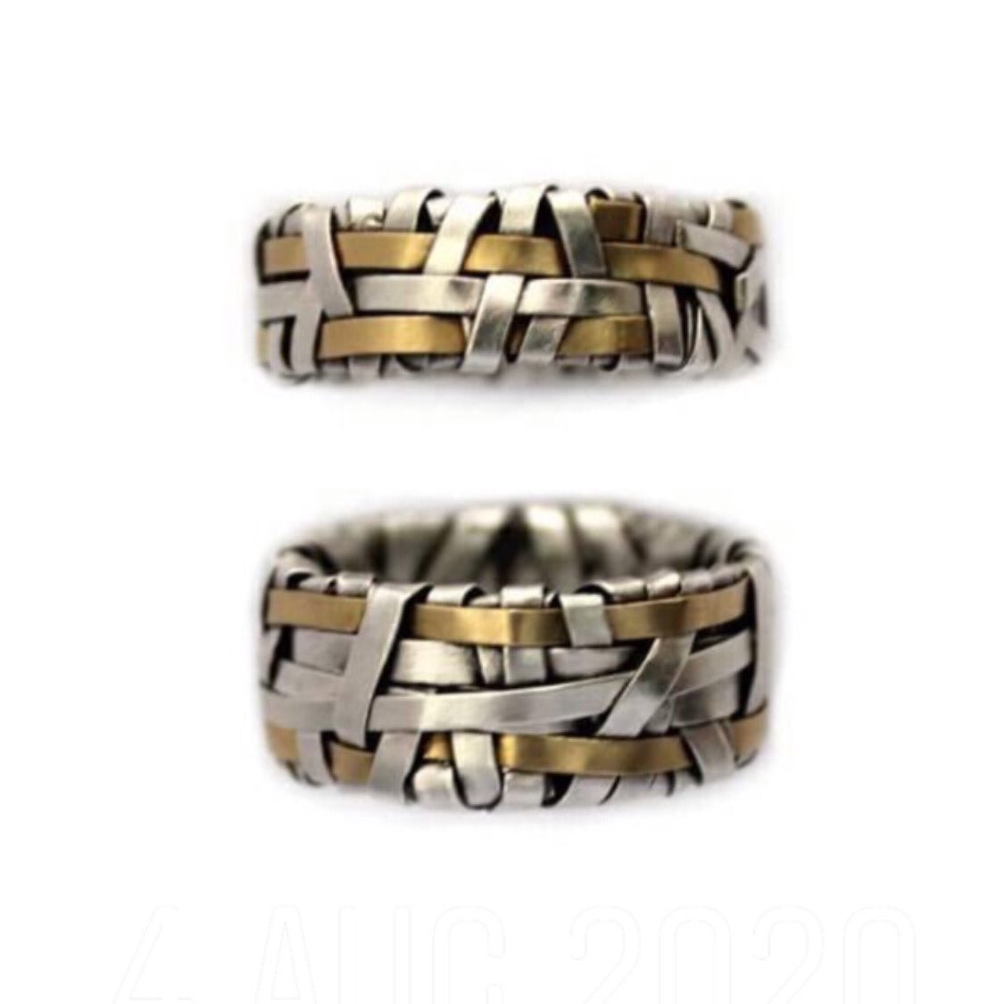 woven series rings ~ celebrating our interconnectedness   #rings #WeddingRings #ArtJewellery #LoveIsLove #TheySaidYes #SheSaidYes #HeSaidYes #wedding #ring #GettingMarried #LoveWins 🎉