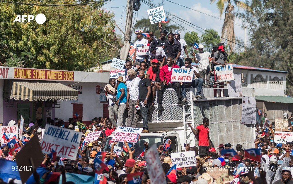 Thousands of Haitians protested in Port-au-Prince and several provincial towns against a spike in kidnappings by gangs, as well as accusing the president of establishing a new dictatorship