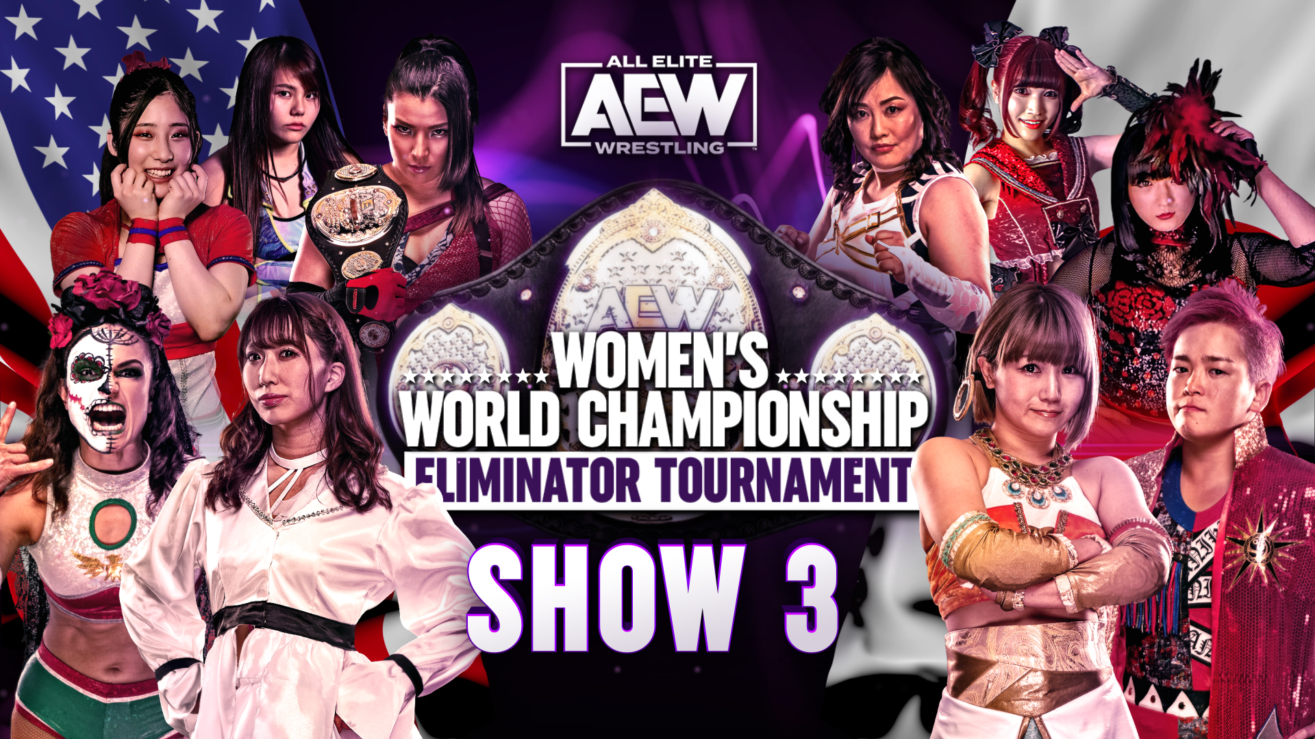 Riho, Thunder Rosa, Ryo Mizunami & More React To AEW Women's Eliminator Tournament