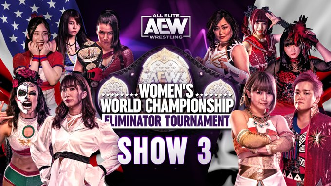 AEW Women's Eliminator Tournament Results: Riho Vs. Thunder Rosa, Japan Finals