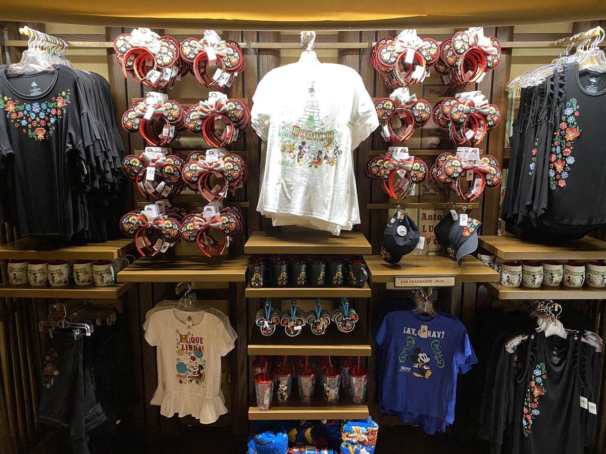 Some of the new México Pavillion merchandise.   #Epcot #DisneyWorld