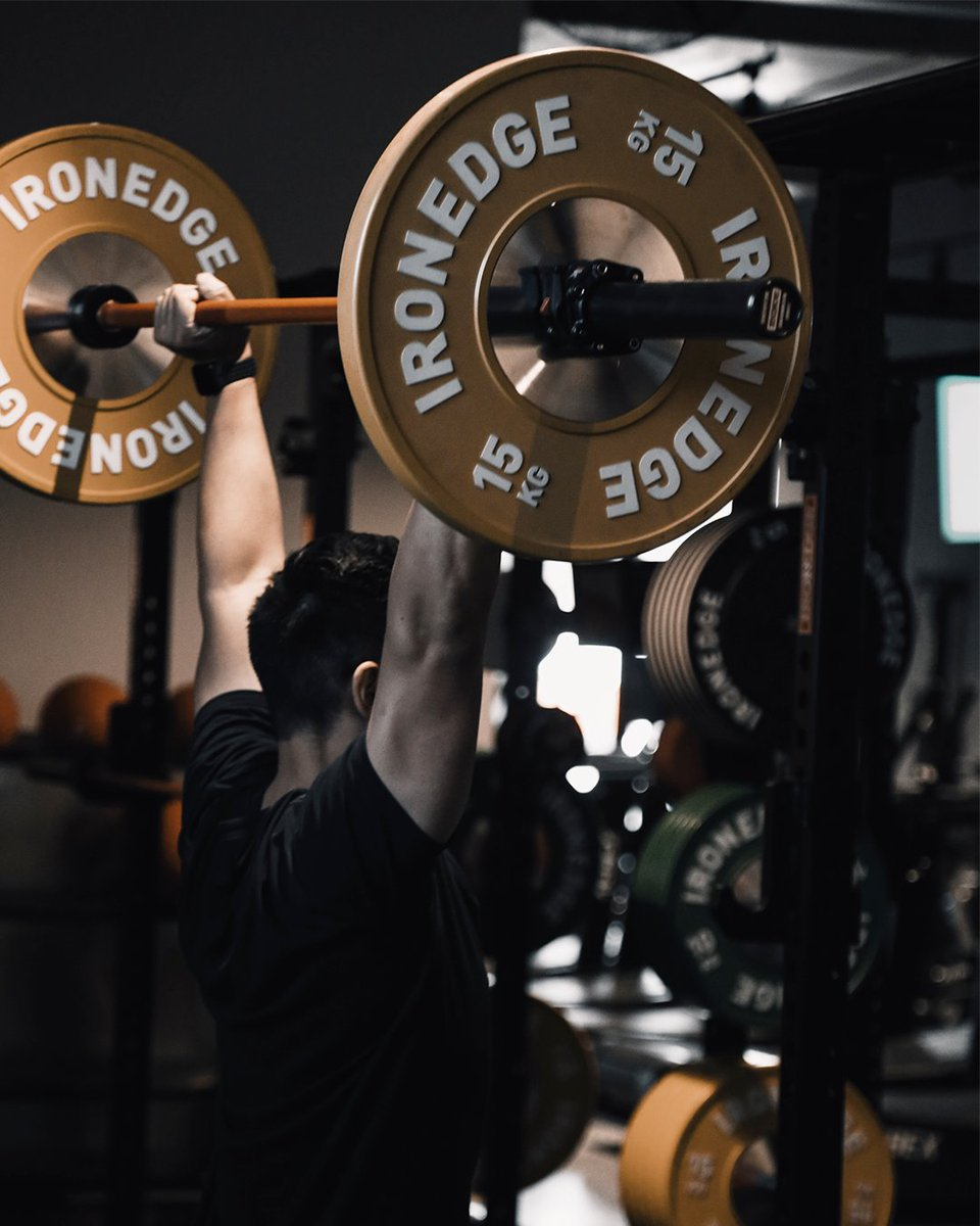 Building better athletes through better training & equipment 💪  Iron Edge Bumper Plates have now been restocked and are ready to ship!  Shop the full range via the website.  #IronEdge #Fitness #Workout #Motivation #Fitspo #FitFam #Fit #Sale