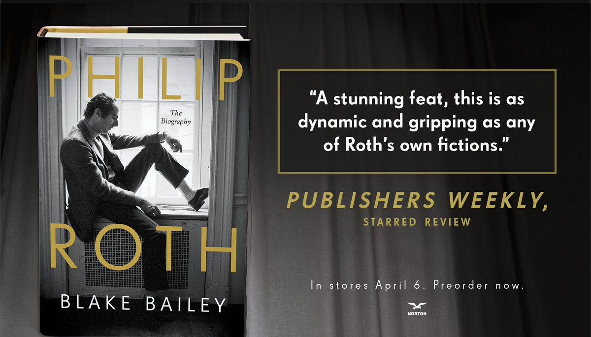Publishers Weekly. Starred Review.  On sale: April 6