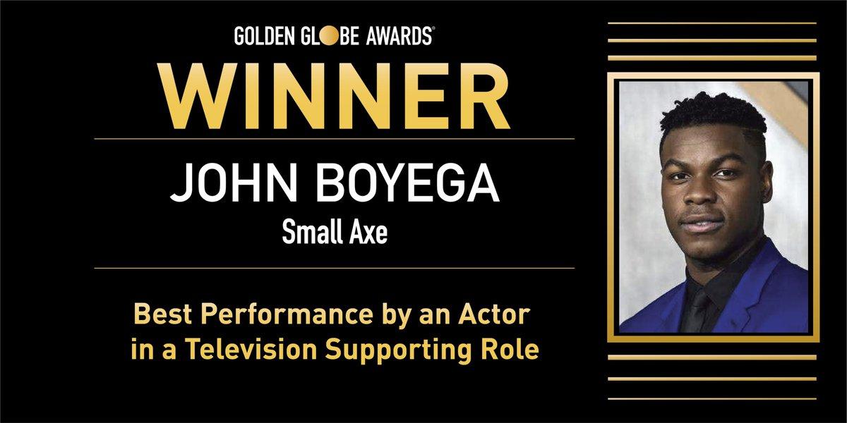 @goldenglobes's photo on John Boyega