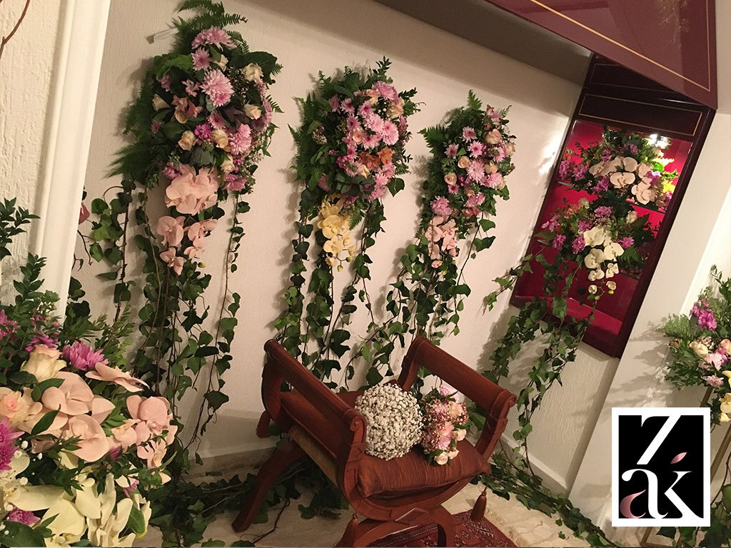 #zakbyzakhiaissa #flowers #wedding #decoration 70/196275