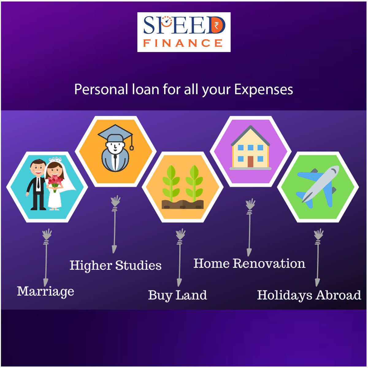 #SpeedFinance an initiative of #EarnWealth, is the easiest way to get an instant personal loan online. This is an Instant Loan app for every Indian. Download App now :  #HappyNewYear #Speedfinace #madeforindian