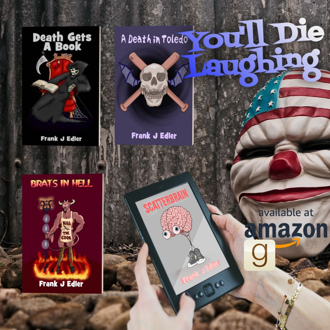 YOU'LL DIE LAUGHING  #horrorfiction #horrorcomedy #darkhumor