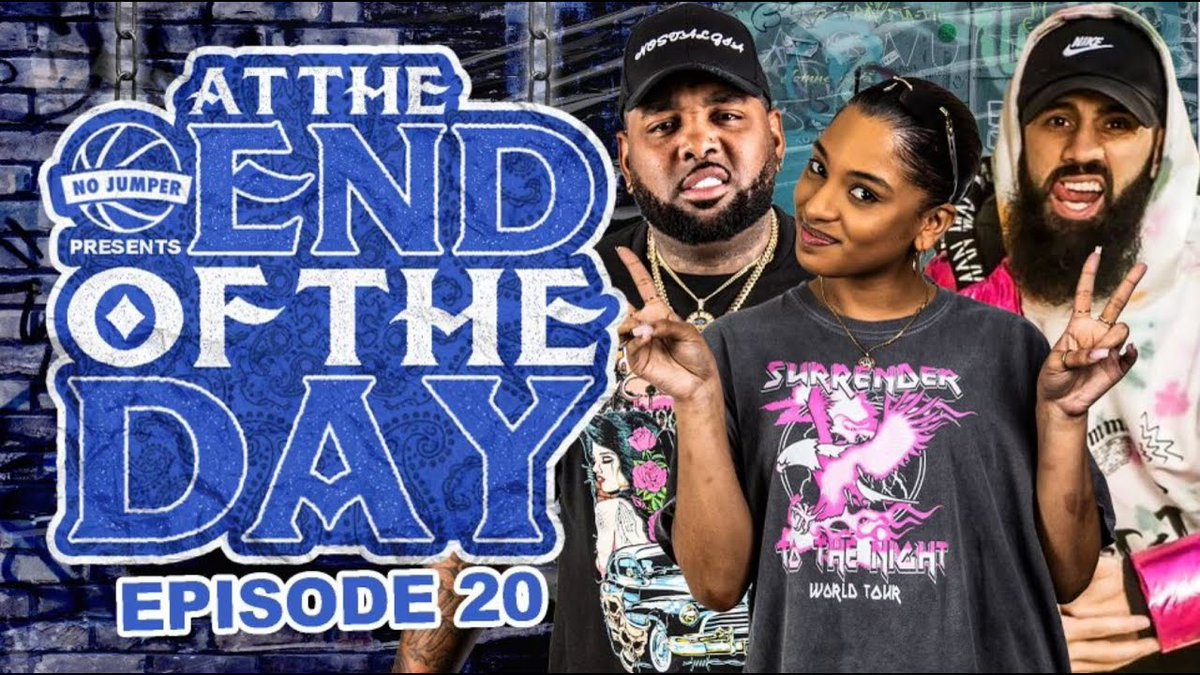 At The End of The Day Ep. 20 ...... -  #hoodgrind #hiphop #breakingnews #battlerap #hiphopnews #celebrities #gossip #celebritygossip #hoodclips #music #rnb #pop #podcast #rap #videos #funnyvideos