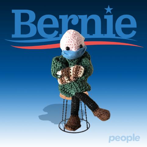 People for #Bernie, un regalo per voi!  Da oggi lunedì #1marzo fino a domenica #7marzo metteremo in palio ogni giorno un bambolotto di #BernieSanders, che andrà a chi in ciascun giorno farà l'ordine più consistente sul nostro sito
