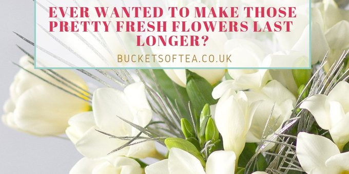 Ever wanted to make those pretty fresh flowers last longer? Here are some simple tricks to try  #flowers