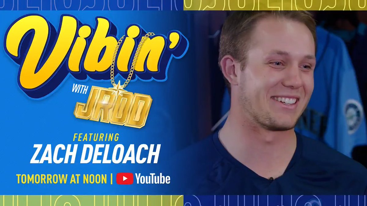 Replying to @MsPlayerDev: Walkin' off with @J_RODshow today, #VibinWithJROD tomorrow...   New episode premieres at noon ⤵️