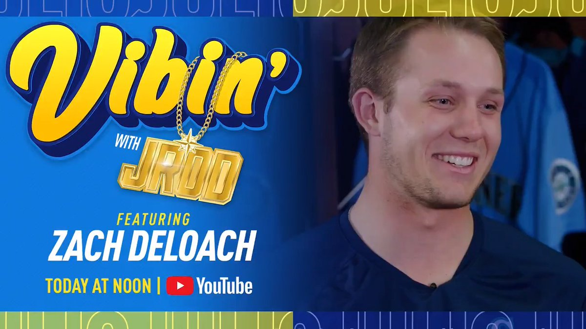 It's time for #VibinWithJROD!  Tune in now as @J_RODshow welcomes @zach_deloach7.    👉
