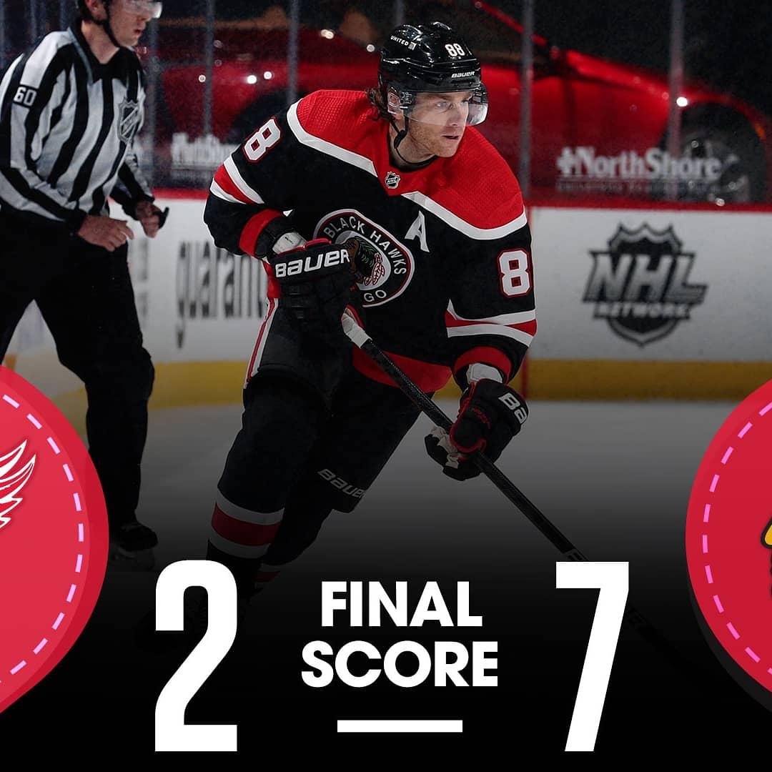 HAWKS WIN  HAWKS WIN  HAWKS WIN  HAWKS WIN  PATRICK KANE 400 GOALS #DETvsCHI #Blackhawks #HockeyIsBack