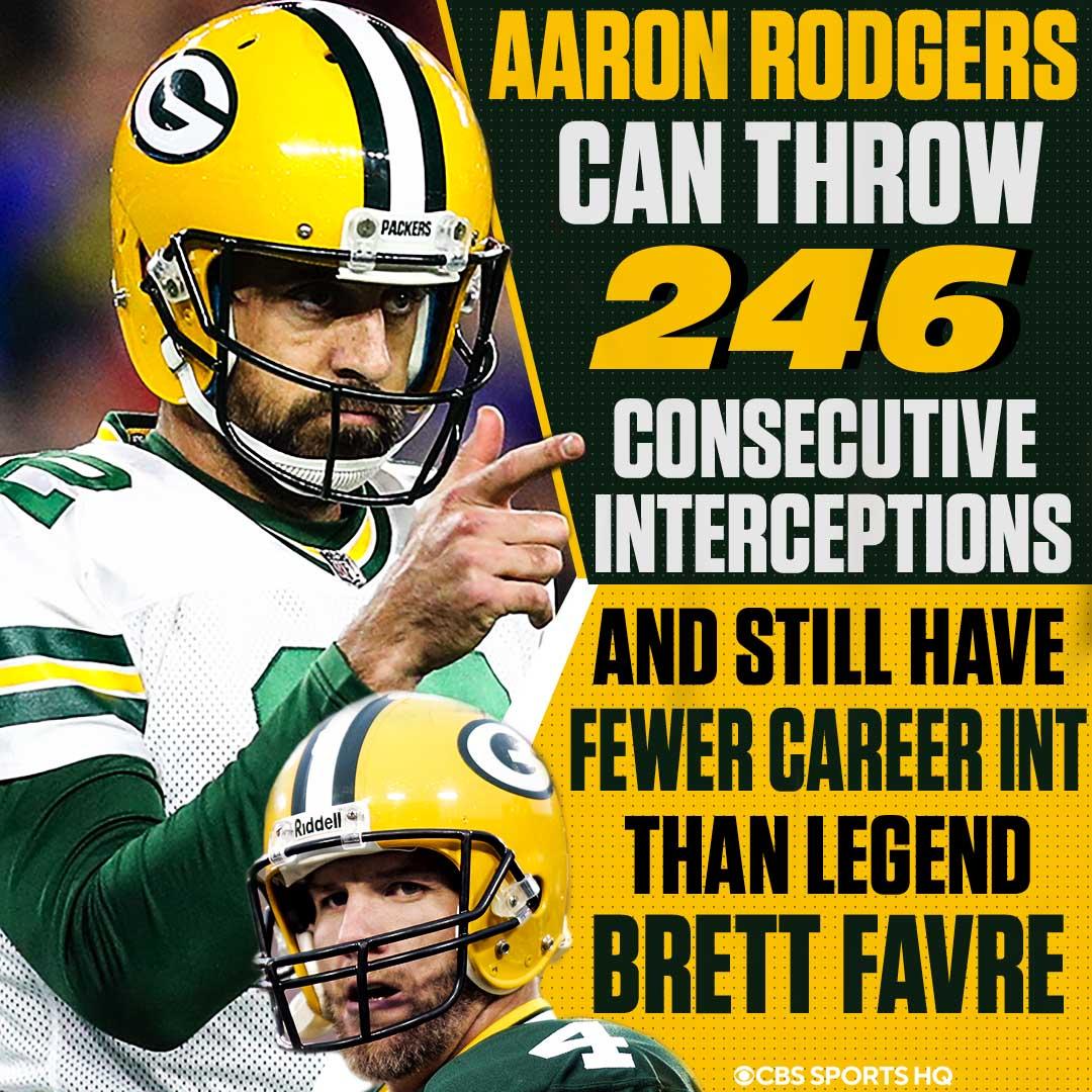Reminder: Aaron Rodgers is unbelievably good #GoPackGo