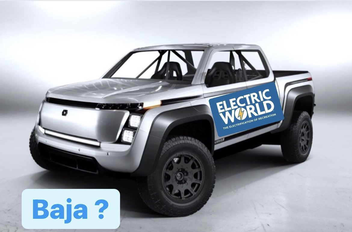 Should we sponsor this ? Who's ready to compete? #BajaCalifornia #ElectricWorld @LordstownMotors @CampingWorld ...