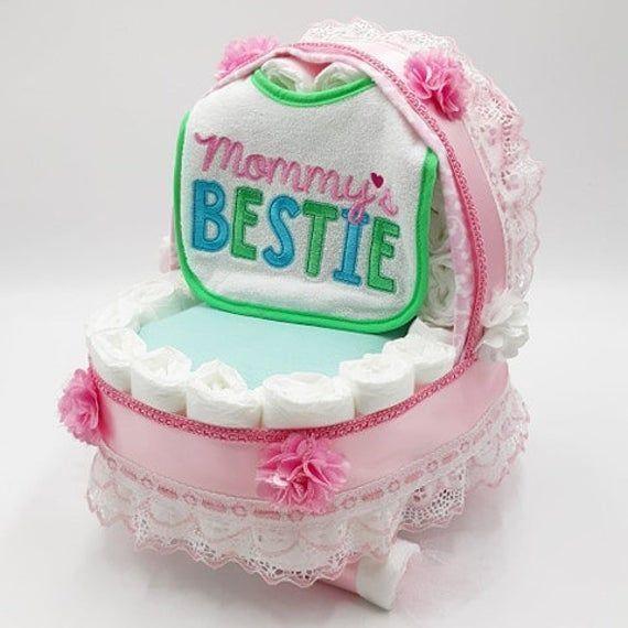 #epiconetsy #pretty #babygirl #babyshowergifts #handmadewithlove #onlinecraft #crafthour #expecting #pink #babygift #diapercake #shopsmall #etsyseller #momlife