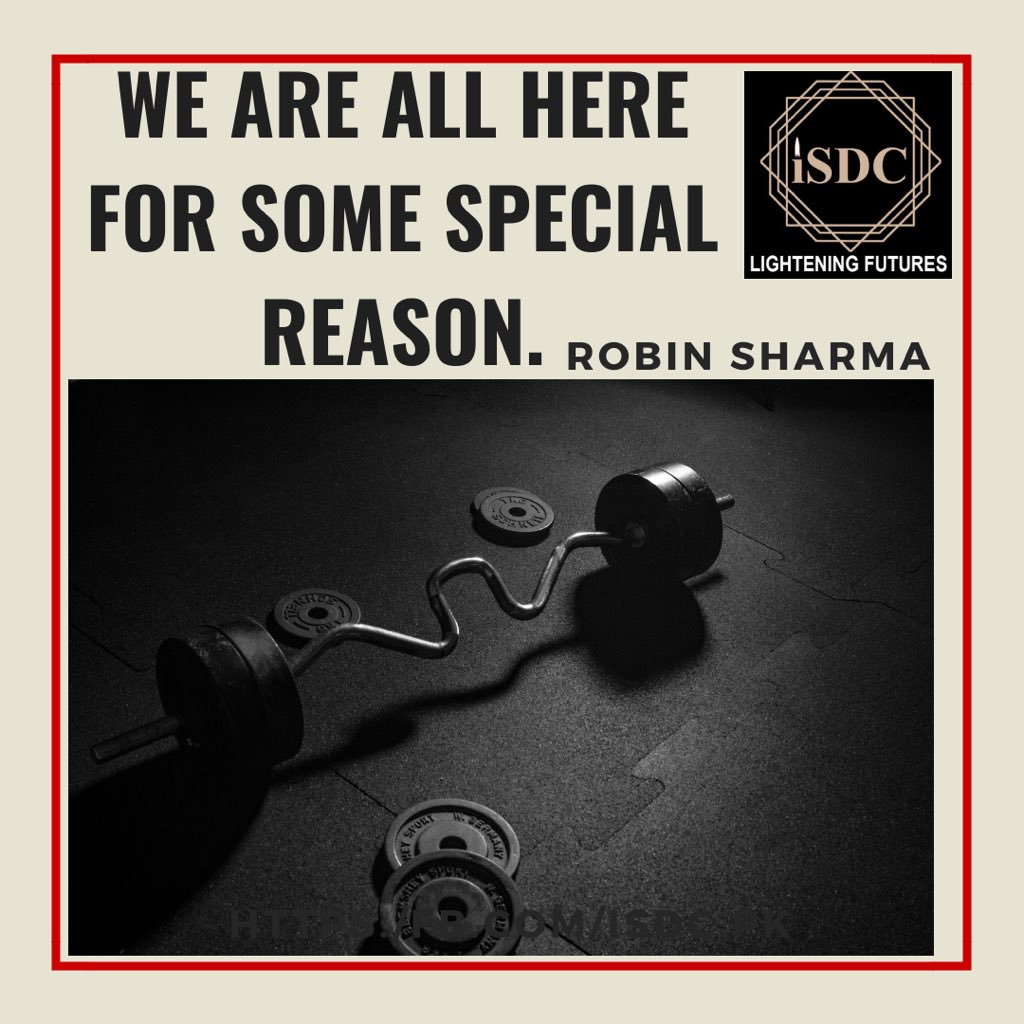 We are all here for some special reason. (#robinsharma)   #instafit #instadaily #lifequotes #lifeisbeautiful #lifestyle #inspirationalquotes #motivationalquotes #gymquotes #workoutquotes #dailyquotes #instadaily #dailyinspiration #hustlers #grind #hustle