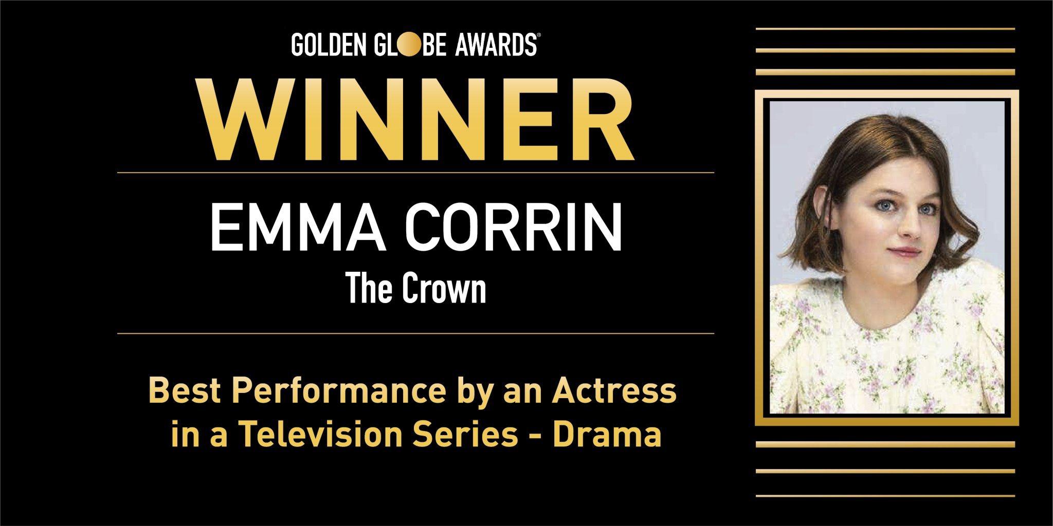 'The Crown' arrasa y 'Mank' decepciona en unos Globos de Oro marcados por la pandemia