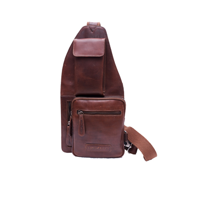 #leathercrossbodybackpack for men, made of 100% genuine leather Check:   #bags #backpack #crossbodybackpack #leatherbackpack #leathergoods #leathergoodsexporter #leatherproductmanufacturer #fashionaccessories #leatheraccessories