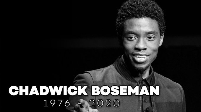 """""""He would say something beautiful. Something inspiring. Something that would amplify that little voice inside of all us that tells us, 'you can.' That tells you to 'keep going'.""""  Rest in peace, Chadwick Boseman."""