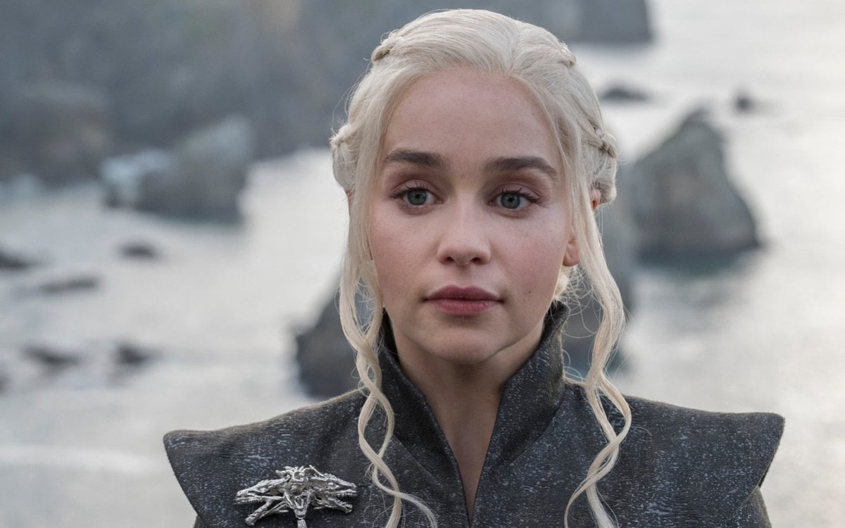 @BaronessBruck No she doesn't speak. #GameOfThrones isn't over because #Meghan wants to be the new #Queen - #DaenerysTargaryen. Am I the only one who got that out of it? For someone who complains about whether or not her #voice is heard, she's got the #MotherOfDragons stare down. 🙄