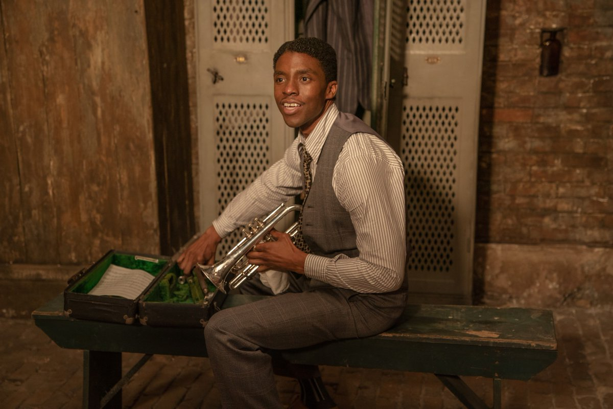 Chadwick Boseman forever. ❤️  Remembering the actor through his incredible #GoldenGlobes-winning performance in MA RAINEY'S BLACK BOTTOM.