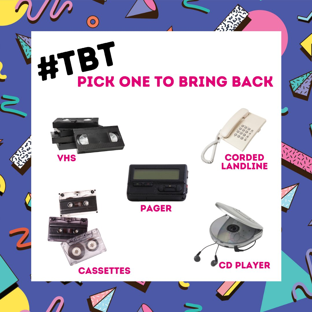 I used CD Players tje most!! 😁 #TeamMagenta #TBT