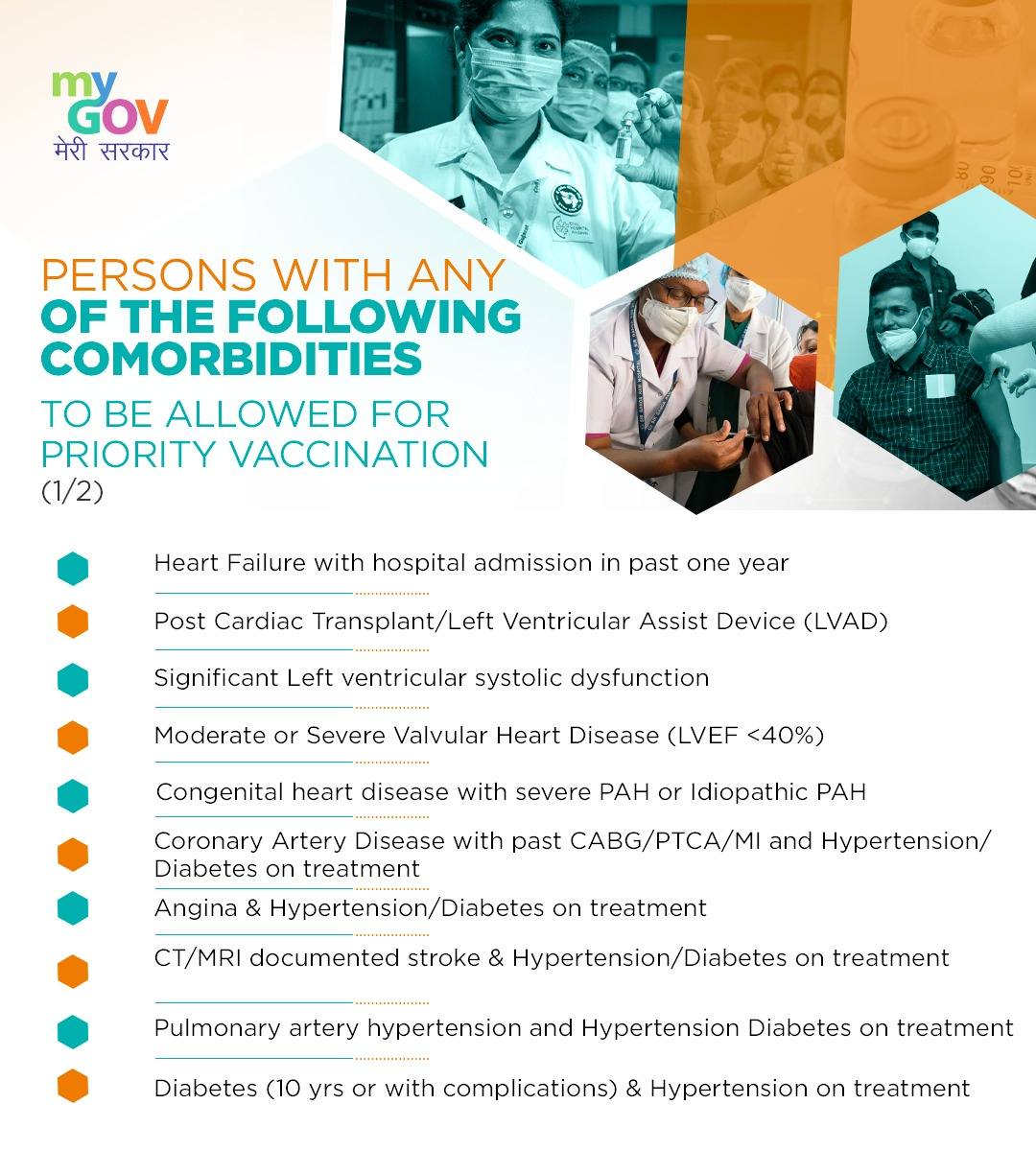 While the second phase of COVID-19 vaccination in India started, Centre issued clarification on CoWIN app for registration for COVID-19 vaccine.