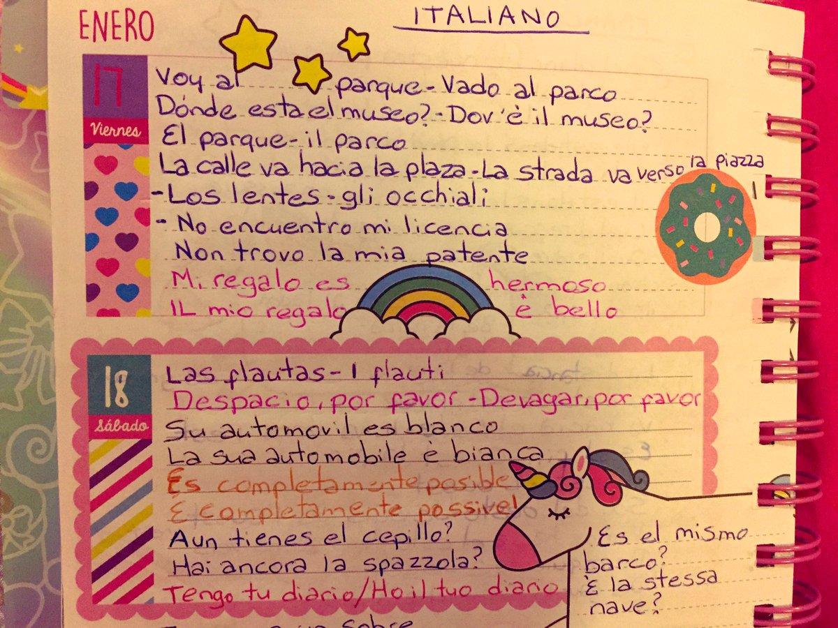Italiano 📝 🇮🇹 #italiano #duolingo #aprender #divertido #pink #lovepink #onix