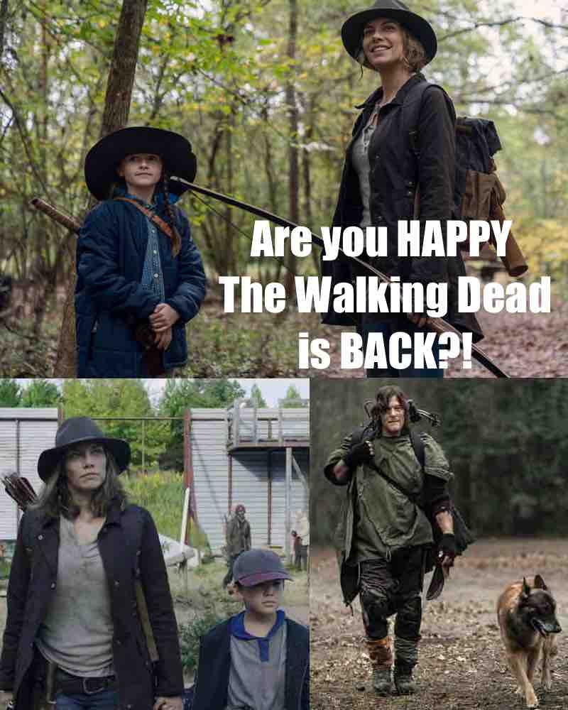 It's GOOD to be BACK! Check out my #TWDFamily Facebook page here:  #TheWalkingDead #TWD 😍😚🙃💕☺️❤️🧐 @LaurenCohan @cailey_fleming @steveyeun @HershelGreene1 @wwwbigbaldhead @DogWalkerDixon @WalkingDead_AMC @AMCTalkingDead @mcbridemelissa